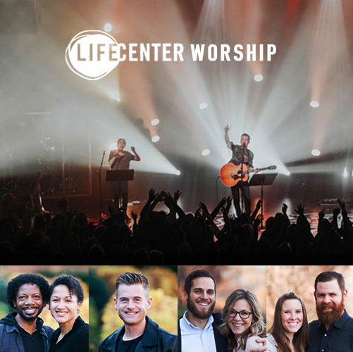 Life Center Worship <span> is a family of worship leaders and musicians who are dedicated to experiencing the love of God and giving it away. Ricardo White is Life Center's worship pastor; he carries a breakthrough anointing in worship, crossing cultures and generations. David Leach, Life Center's associate worship pastor, is a dynamic worshipper who brings people into the presence of God where the Father is revealed and lives are changed. Nathan Horst is the founder of Attic Studios, where he records and produces; he is a gifted lyricist and worship leader. Jon and Tiffany Aitken love to see the presence of God overwhelm people in worship and change their perspectives to one of hope.